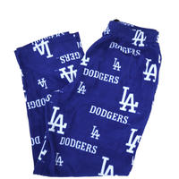 LA Dodgers 総柄 フリース イージー パンツ Lサイズ