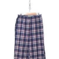 LL Bean タータンチェック コットン パジャマパンツ Mサイズ