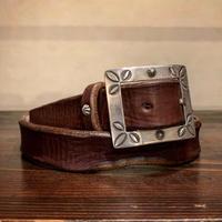 Dutch Leather Company × MASAYOSHI / Tony belt (Rusted)