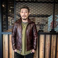 FOUNTAINHEAD LEATHER【Alpha / アルファ】【BROWN】3月下旬〜6月入荷予定!ご予約受付中!!