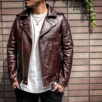 FOUNTAINHEAD LEATHER【 DELTA  / デルタ 】【BROWN】3月下旬〜6月下旬入荷予定!!ご予約受付中!!