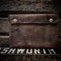 Dutch Leather Company × MASAYOSHI clutch bag(L)