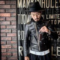 Dutch Leather Company ×  MASAYOSHI lighter Sacoche