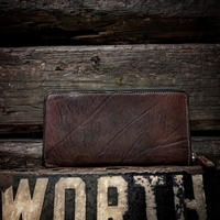 Dutch Leather Company ×  MASAYOSHI round zip long wallet