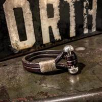 Dutch Leather Company × MASAYOSHI array bracelet