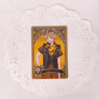 ディズニー ツイステッドワンダーランド メタルカードコレクション パックver. P1-03 ラギー・ブッチ