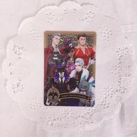 ディズニー ツイステッドワンダーランド メタルカードコレクション パックver. P1-18 ナイトレイブンカレッジ関係者