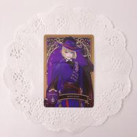ディズニー ツイステッドワンダーランド メタルカードコレクション パックver. P1-09 ルーク・ハント