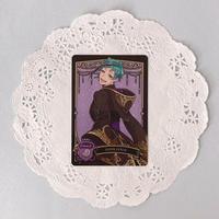 ディズニー ツイステッドワンダーランド メタルカードコレクション パックver.2 P2-03 フロイド・リーチ