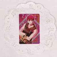 アイドリッシュセブン メタルカードコレクション10 狗丸トウマ(10-14 金箔押し)