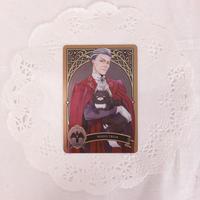 ディズニー ツイステッドワンダーランド メタルカードコレクション パックver. P1-15 モーゼズ・トレイン