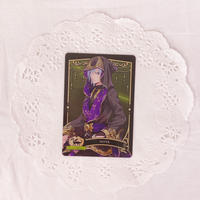 ディズニー ツイステッドワンダーランド メタルカードコレクション2 パックver. P2-10 シルバー