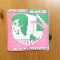PLAY BACK LADY ZINE vol.3 Marking Issue