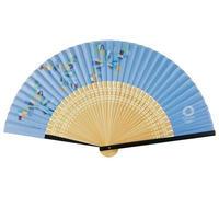 東京2020オリンピックエンブレム 紙貼り中短地扇子 Go For 2020! Graphics