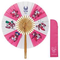 東京2020パラリンピックマスコット 円形扇子 ソメイティ
