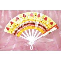 スライド扇子 ぷちプル・スイーツ <イチゴのショートケーキ>