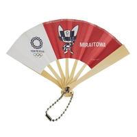 東京2020オリンピックマスコット ミニ扇子 M-① ミライトワ