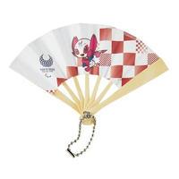東京2020パラリンピックマスコット ミニ扇子 S-⑤ ソメイティ