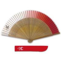 東京2020パラリンピックエンブレム 絹貼り短地扇子