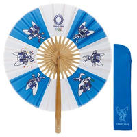 東京2020オリンピックマスコット 円形扇子 ミライトワ