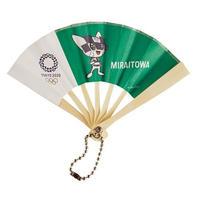 東京2020オリンピックマスコット ミニ扇子 M-④ ミライトワ