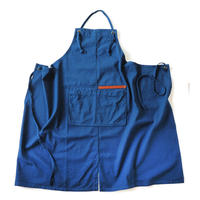 【BB001nv】 BRICKS WORK APRON navy