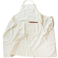 【BB001wh】 BRICKS WORK APRON white