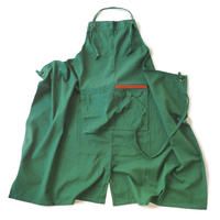 【BB001gr】 BRICKS WORK APRON green