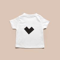 KIDS  Tシャツ Heart