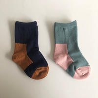 KARMAN LINE  /  Gemini ( cotton socks )  size : 11-13 cm