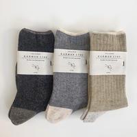 KARMAN LINE / Taurus  ( wool rib socks )