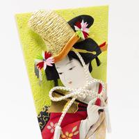 13号 扇の舞:桜華越前塗ケース飾り