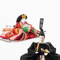 京十一番親王飾「桐竹鳳凰文錦」