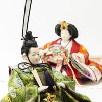 京十一番親王飾「向鶴文錦」