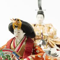 京十一番親王飾「枝梅文錦」