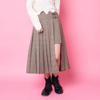 <ANDGEEBEE>check wrap skirt AG183SK05
