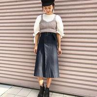 <ADIRA>knit bustier AR181KT04
