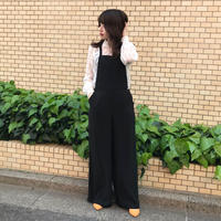 <ADIRA>back ribbon overalls AR181PT02