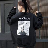 <ANDGEEBEE>【予約】【UNISEX】バニースウェット AG191CS93