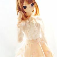 DDM/DDL服 洋服 少女 ワイシャツ/スカート ドール服 ハンドメイド