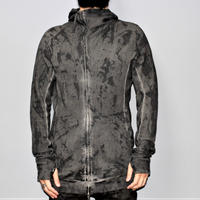 BORIS BIDJAN SABERI / ZIPPER2 / VINYL COATED ZIP HOODIE