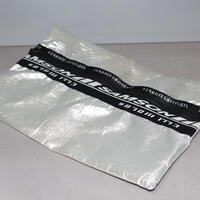 SHAUN SAMSON / SILVER CLUTCH BAG