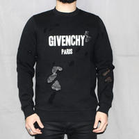 SS16 GIVENCHY / DAMAGED PROCESS SWEAT SHIRT