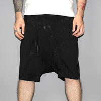 BORIS BIDJAN SABERI / SS17 Vinyl processed shorts