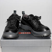 PRADA LINEA ROSSA / 19SS Brixxen leather shoes