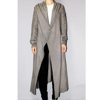 Poem boemien / Cotton long hoodie coat