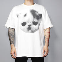 SHAUN SAMSON / Big cat over sized T-shirt