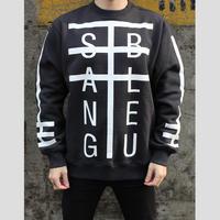 SANG BLEU x Carhartt / Typo Crew Neck (Limited item)