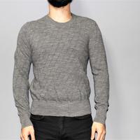 CAROL CHRISTIAN POELL / 01AW MALE Wool bias knit