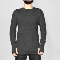 BORIS BIDJAN SABERI / AW17 Seamless cashmere knit